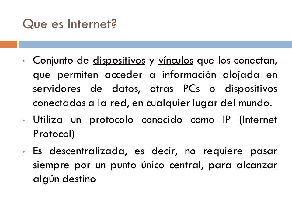 Que es Internet.