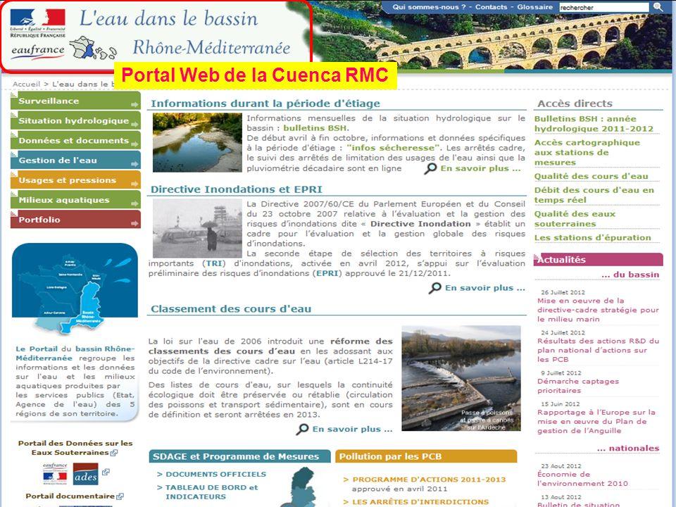 Sept. 2012 50 Portal Web de la Cuenca RMC