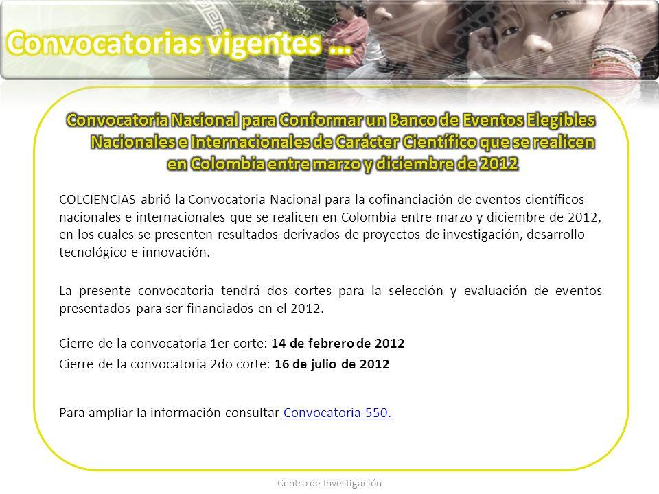 EventoFecha del EventoLugarFechas importantesMás información 2° Congreso internacional de Psicología La psicología que todos hacemos 23 al 25 de mayo de 2012 Zumpango, Estado de México, México Fecha límite para envío de resúmenes: 9 de marzo de 2012 Fecha límite de inscripción de los ponentes: 20 de abril de 2012 https://docs.google.com/vi ewer?url=http://www.psic osocial.org.mx/images/201 2/zumpango.pdf&embedd ed=true&chrome=true XIX Conferencia Internacional Sobre el SIDA Juntos Cambiando el Rumbo 22 al 27 de julio de 2012 Washington, DC - USA Fecha límite para envío de resúmenes: 15 de febrero de 2012 Fecha límite para solicitudes de becas: 15 de febrero de 2012 http://translate.google.co m.co/translate?hl=es&lang pair=en|es&u=http://www.aids2012.org/ 13 ª Conferencia Internacional de Salud Mental Cambio Positivo - Invertir en Salud Mental 6 al 8 de agosto del 2012 Outrigger Surfers Paradise, Australia Fecha límite para envío de resúmenes: 13 de abril de 2012 http://www.anzmh.asn.au /conference/index.html Congreso Mundial de Cáncer UiCC Conexión para un impacto mundial 27 al 30 de agosto 2012Montreal, Canadá Fecha límite para envío de resúmenes: 29 de marzo 2012 Fecha límite de inscripción sin costo adicional: 22 de abril 2012 http://www.worldcancerc ongress.org/ Conferencia Internacional sobre la Salud en el Trabajo y Cumbre de Seguridad 27 al 29 de agosto de 2012Chicago, EE.UU Fecha límite para envío de resúmenes: 9 de julio de 2012 Fecha límite para inscripción anticipada: 5 de marzo de 2012 http://www.omicsonline.o rg/occupationalhealth2012 / 1ª Conferencia Internacional de Estadística 4 al 6 septiembre de 2012 Persada Johor, Johor Bahru Malasia Fecha límite de Inscripción y envío del resumen: antes 15 de marzo 2012 http://www.utm.my/ism- 1/
