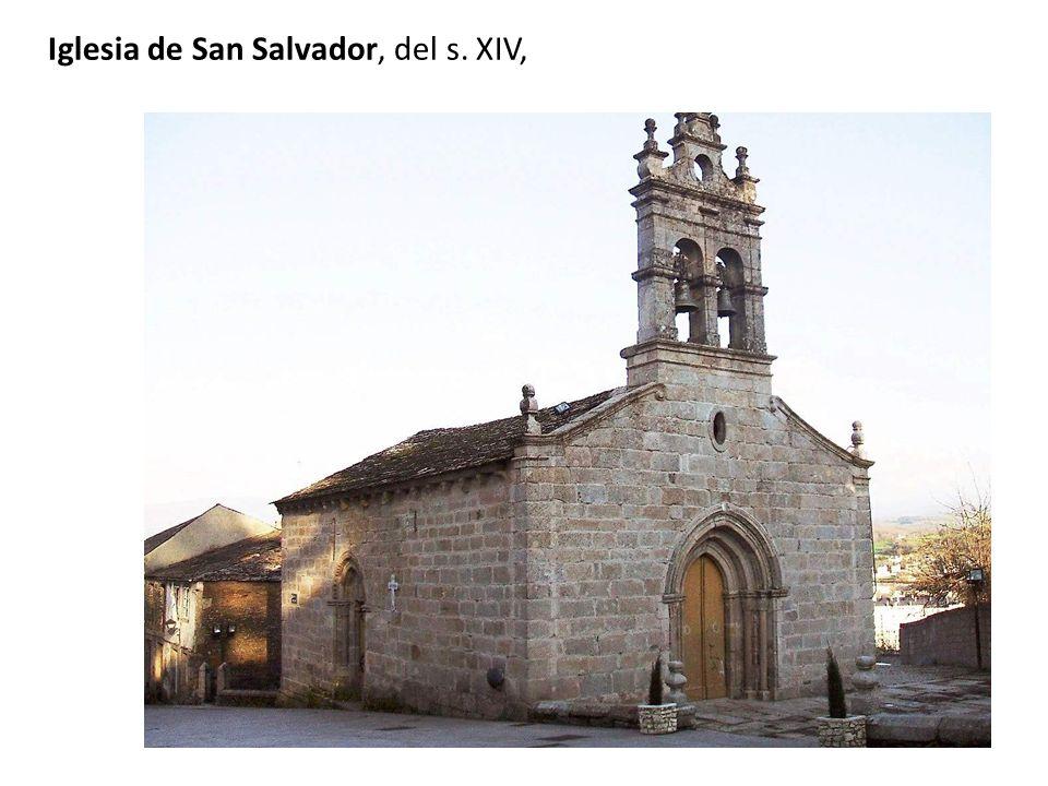Iglesia de San Salvador, del s. XIV,