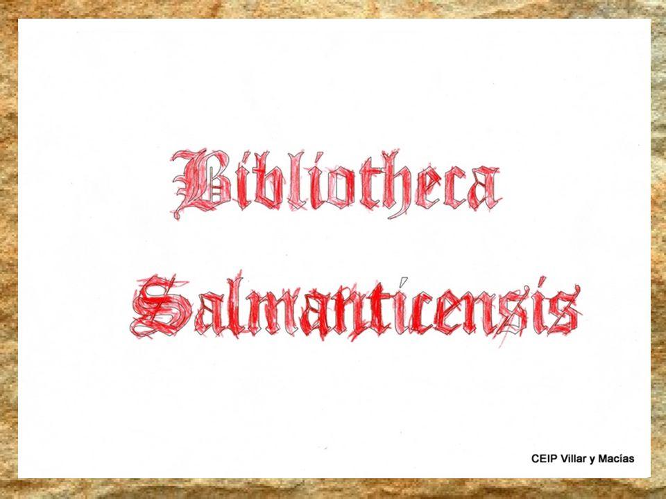 El día del Libro, La Bibliotheca Salmanticensis se abrió para nosotros y nos dejó otro libro de libros.