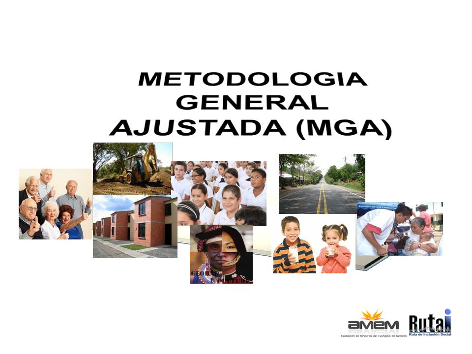 La Metodología General Ajustada: Es una herramienta (software) creada por el Departamento Nacional de Planeación, mediante la cual se presentan los proyectos de interés Estatal en Colombia