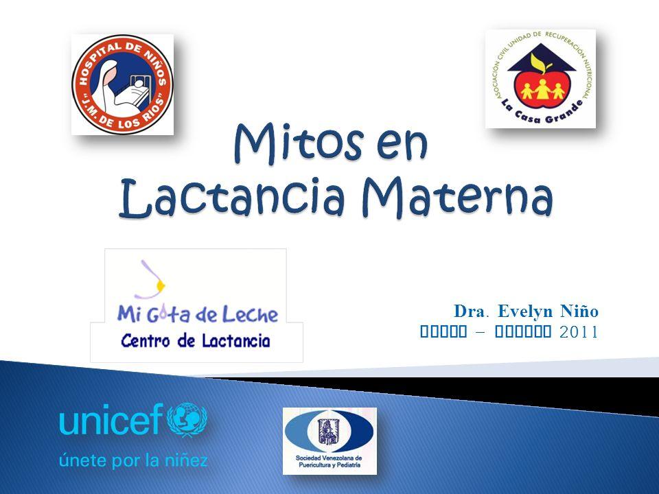 Dra. Evelyn Niño Julio - Agosto 2011