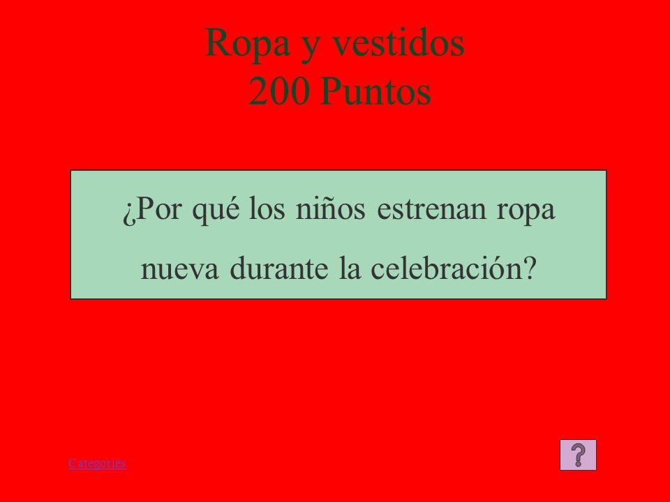Categories Ropa y Vestidos 100 Puntos La ropa y vestidos están hechos de seda.
