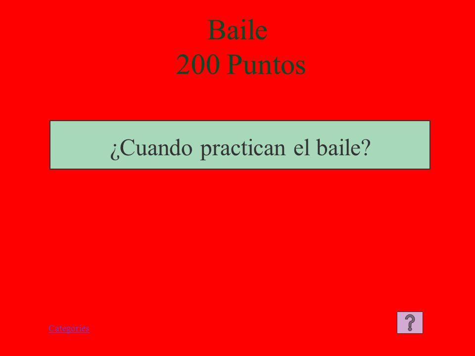 Categories Baile 100 Puntos El baile se llama la danza del león