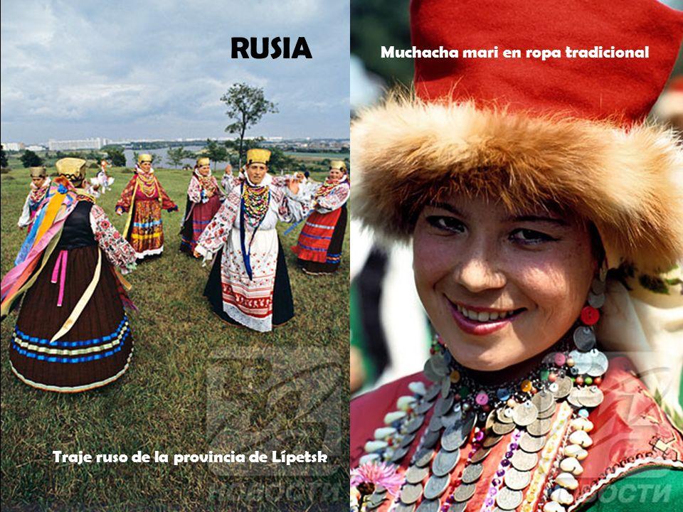 Trajes tradicionales de los bashkirios Traje típico kirguiz RUSIA
