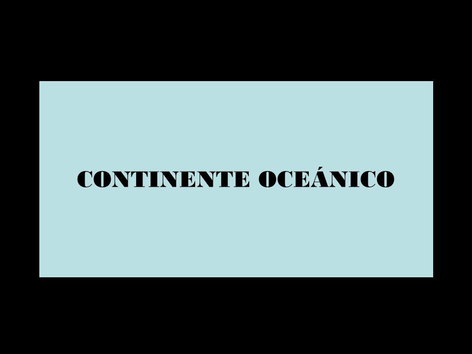 CONTINENTE OCEÁNICO