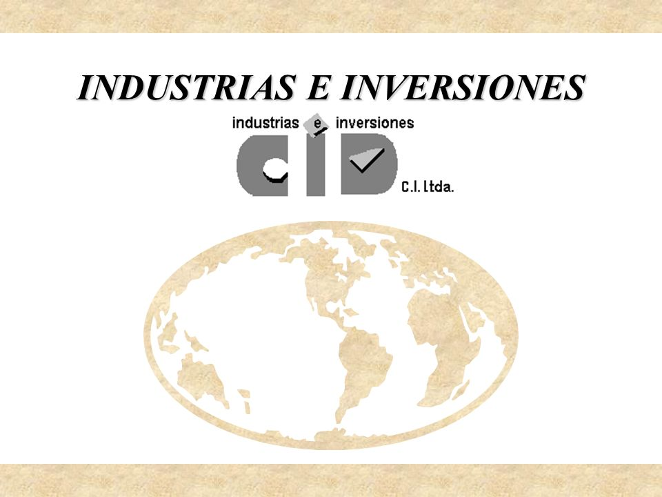 NUESTRA HISTORIA INDUSTRIAS E INVERSIONES CID C.I.