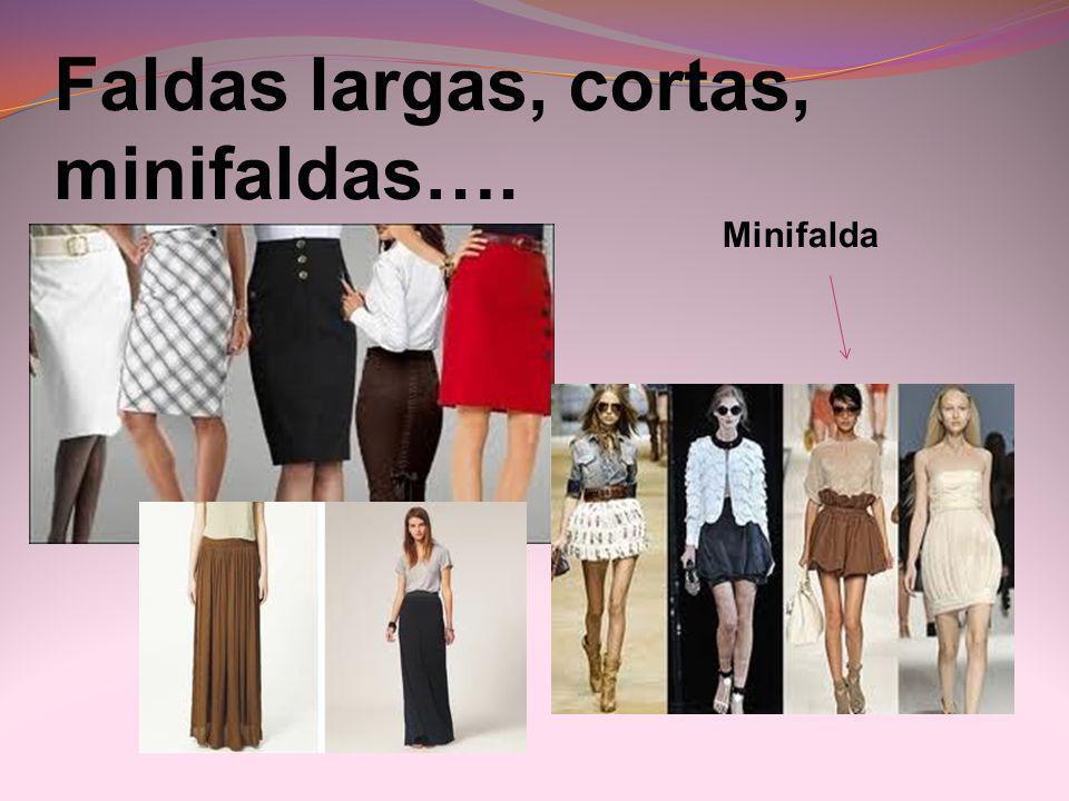 Faldas largas, cortas, minifaldas…. Minifalda