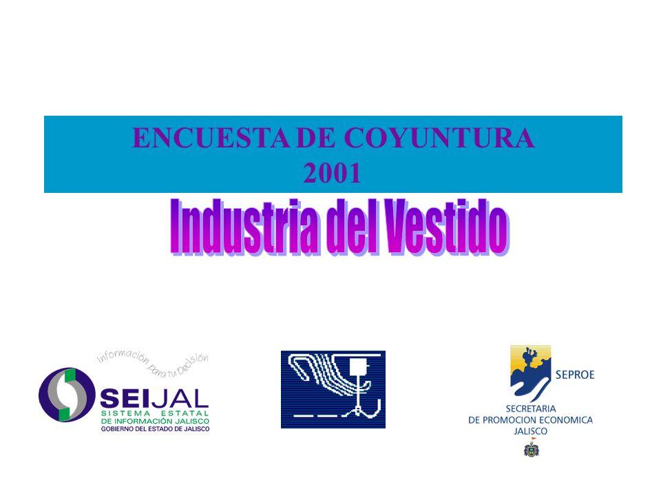 ENCUESTA DE COYUNTURA 2001