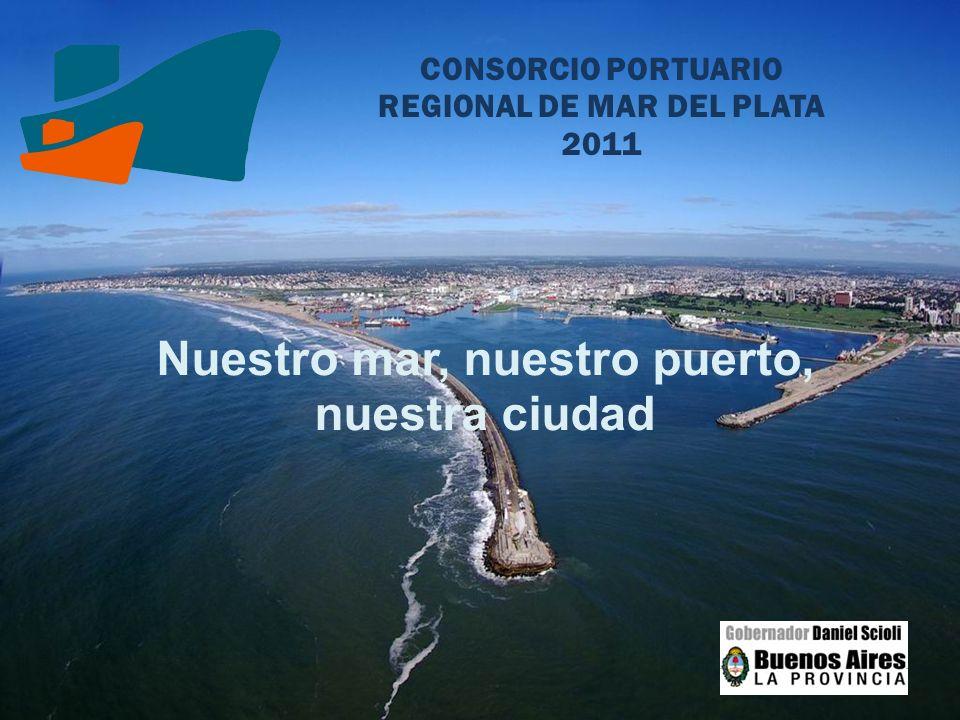 CONSORCIO PORTUARIO REGIONAL DE MAR DEL PLATA 2011 Nuestro mar, nuestro puerto, nuestra ciudad