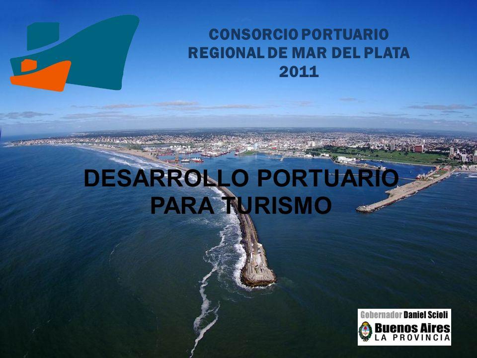 CONSORCIO PORTUARIO REGIONAL DE MAR DEL PLATA 2011 DESARROLLO PORTUARIO PARA TURISMO