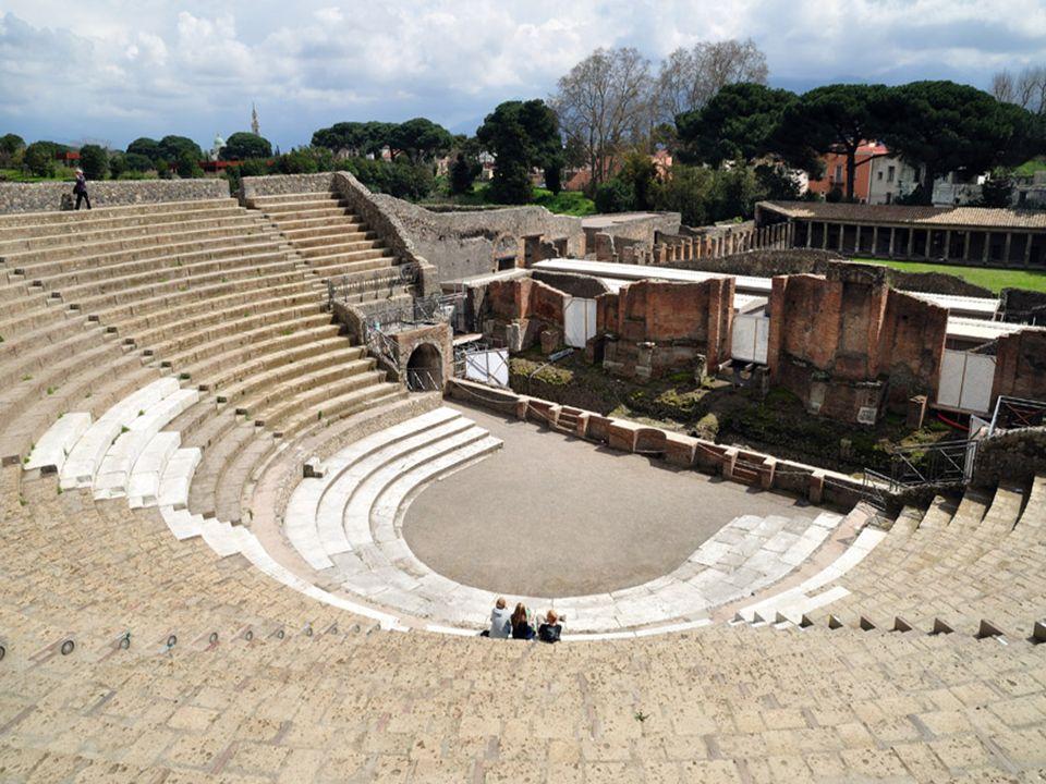 Gran teatro de Pompeya.