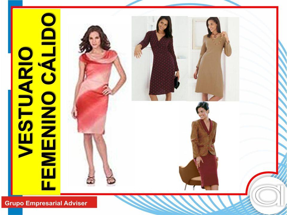 VESTUARIO FEMENINO CÁLIDO