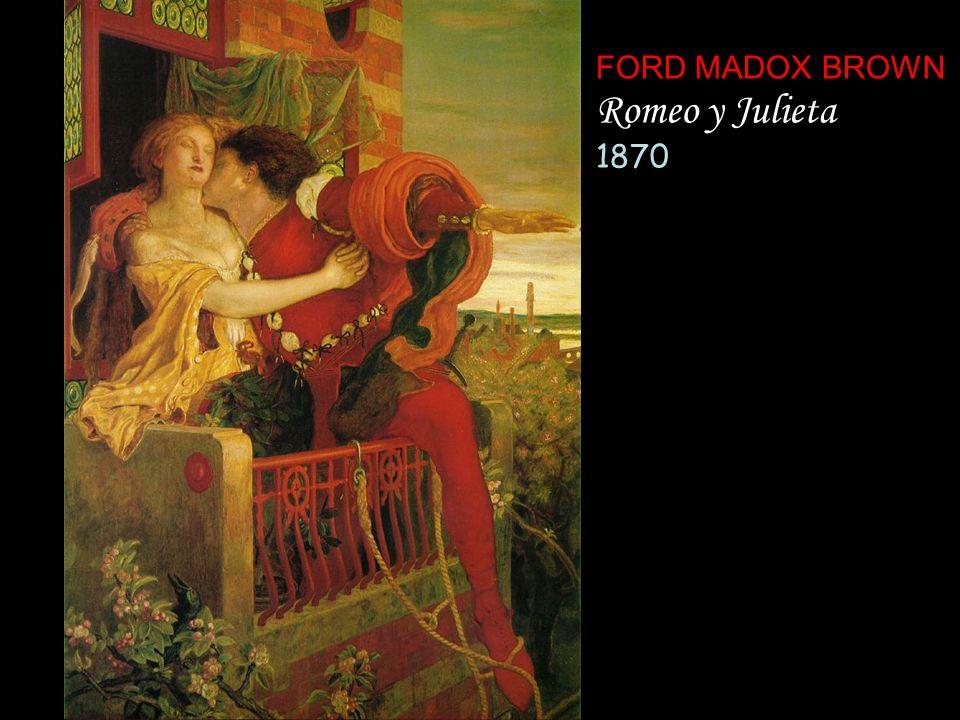 FORD MADOX BROWN Romeo y Julieta 1870