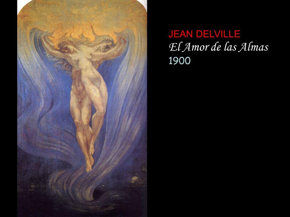 JEAN DELVILLE El Amor de las Almas 1900