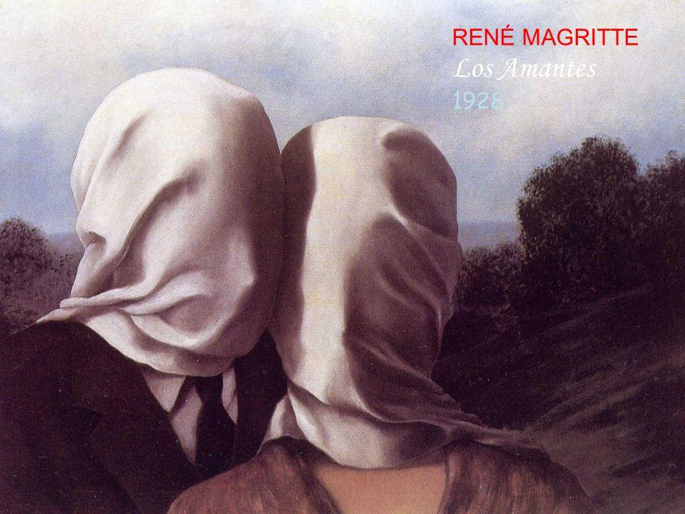 RENÉ MAGRITTE Los Amantes 1928