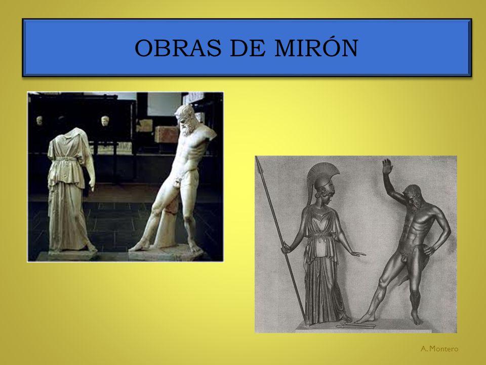 OBRAS DE MIRÓN A. Montero