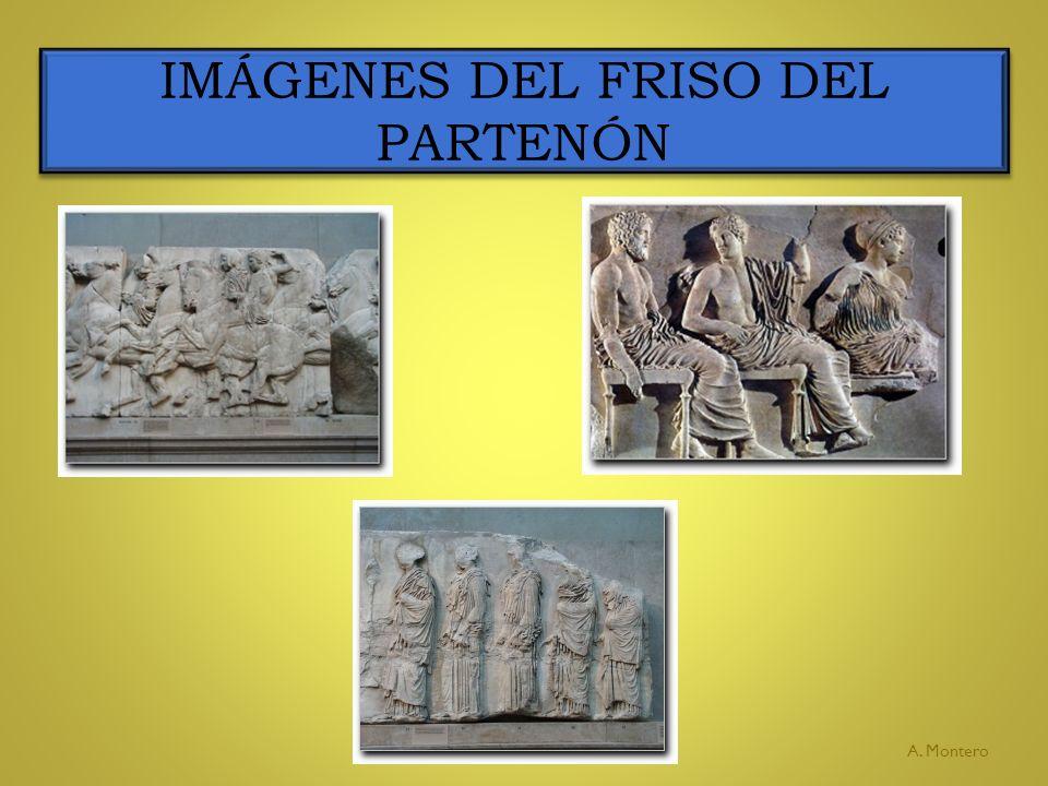 IMÁGENES DEL FRISO DEL PARTENÓN A. Montero