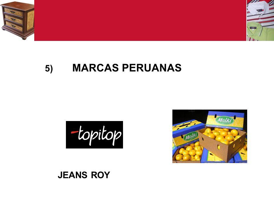 5) MARCAS PERUANAS JEANS ROY