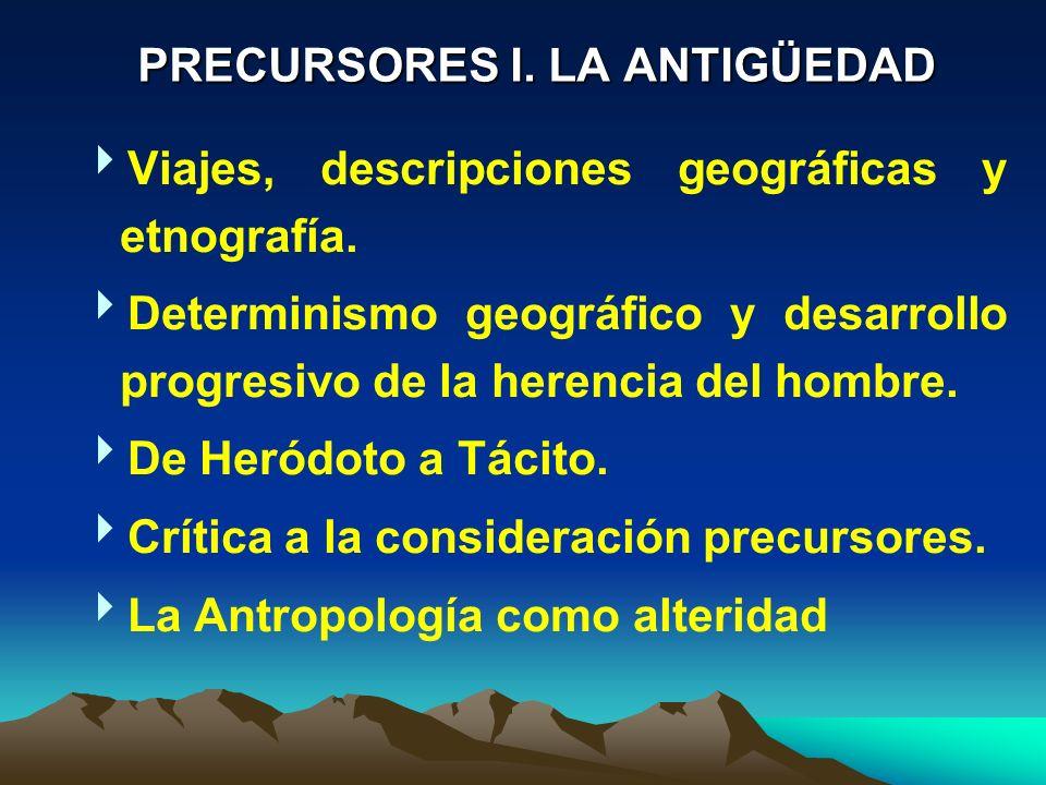 Viajes, descripciones geográficas y etnografía.