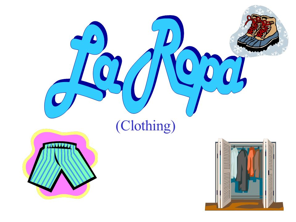 On the following slides, click on the picture that best represents the word in Spanish.