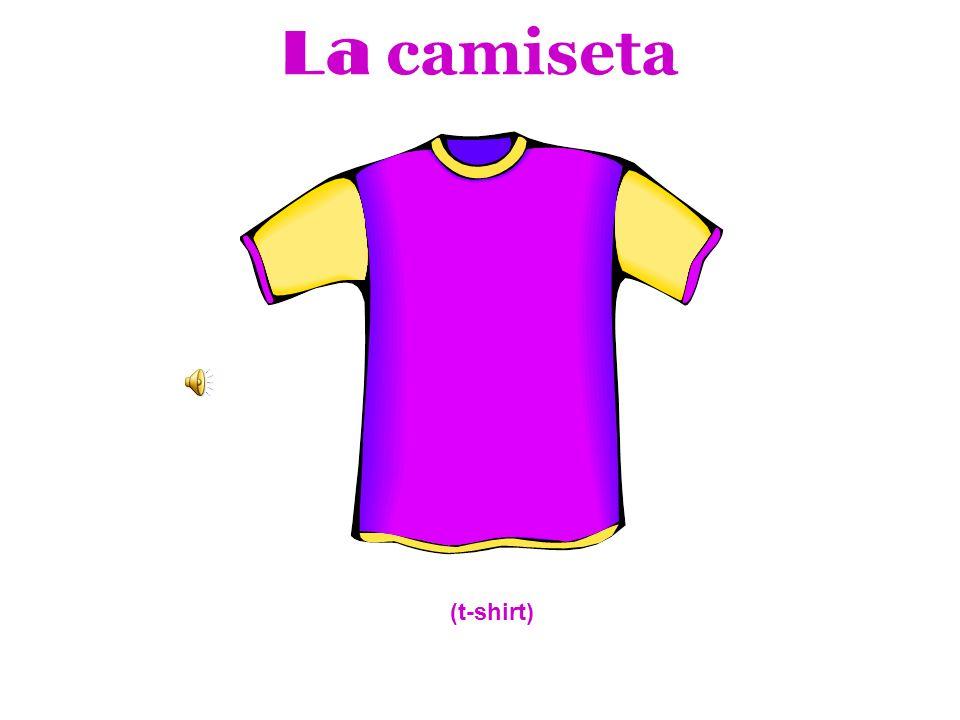 La camiseta (t-shirt)