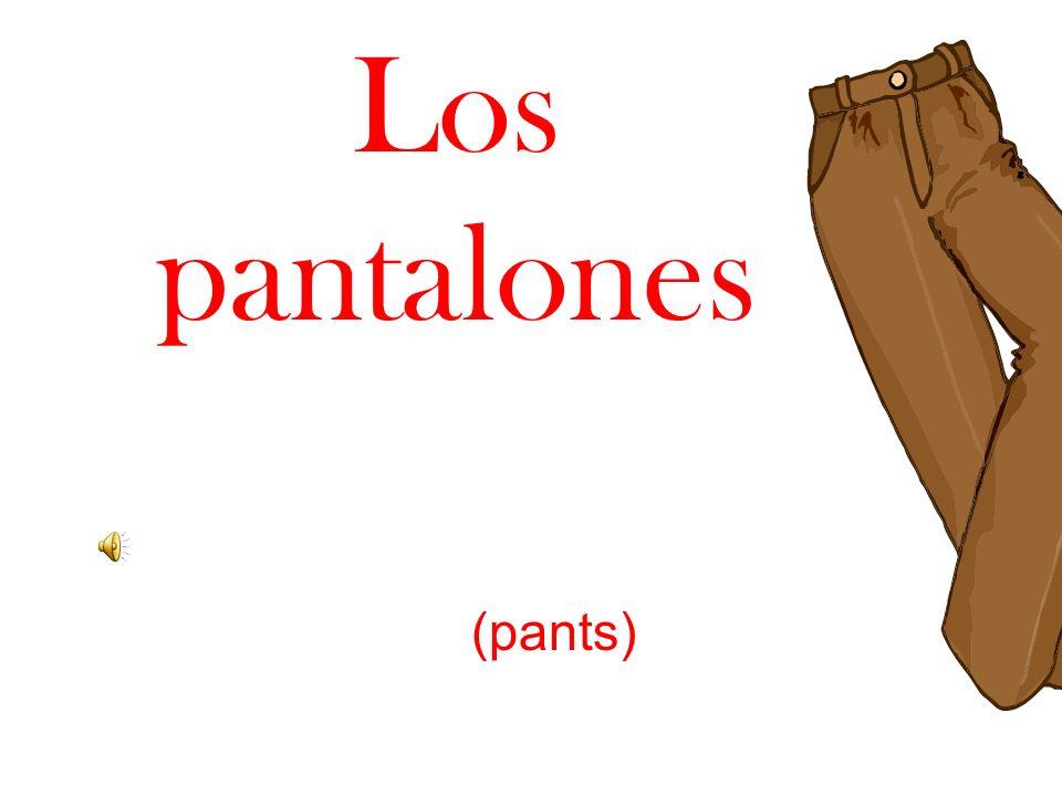 Los pantalones (pants)