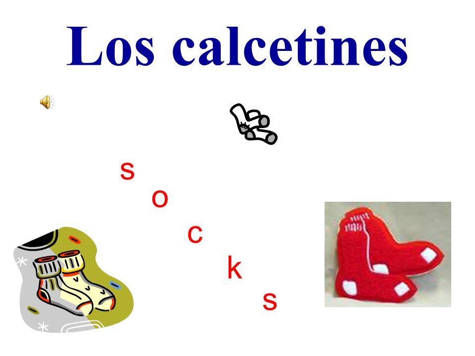 Los calcetines s o c k s