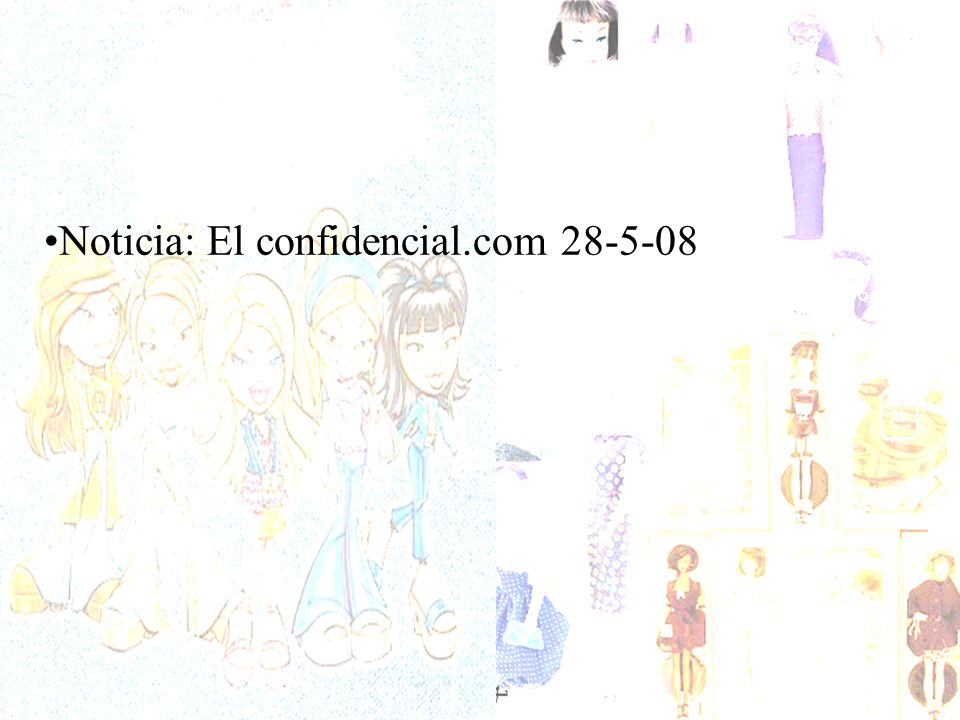Noticia: El confidencial.com 28-5-08