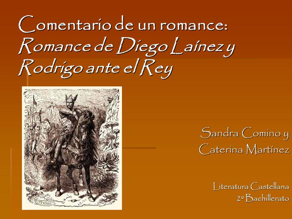 Romance Cabalga Diego Laínez al buen rey besar la mano, consigo se los llevaba los trecientos hijosdalgo.