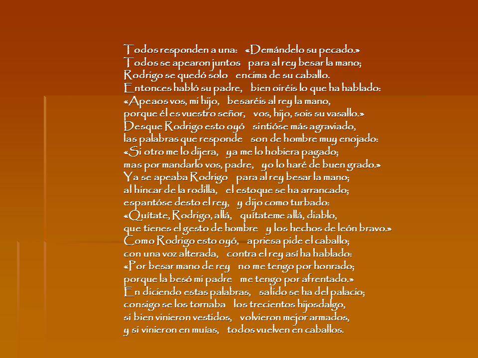 Localización Pertenece al Romancero Viejo: poemas elaborados durante los siglos XVI y XV que se hallan emparentados tanto con la poesía épica, como la lírica tradicional.