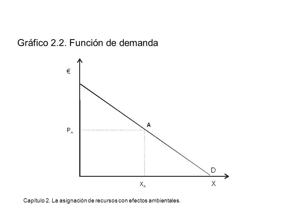 Capítulo 2. La asignación de recursos con efectos ambientales. Gráfico Recuadro 2.11. No Convexidad