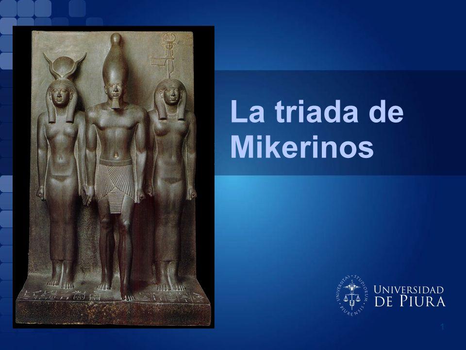 1 La triada de Mikerinos