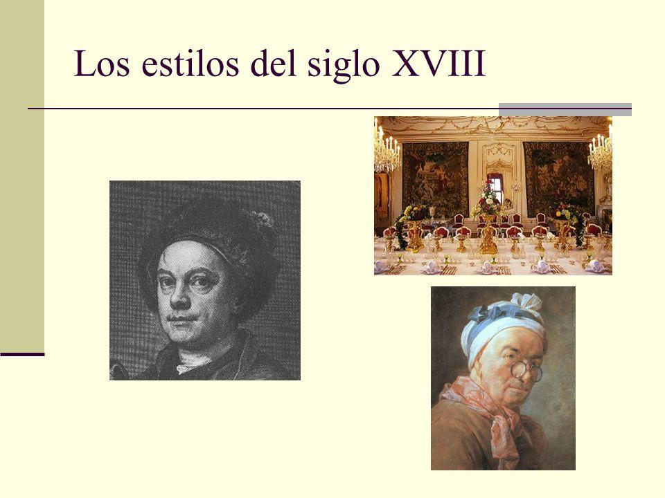 Los estilos del siglo XVIII