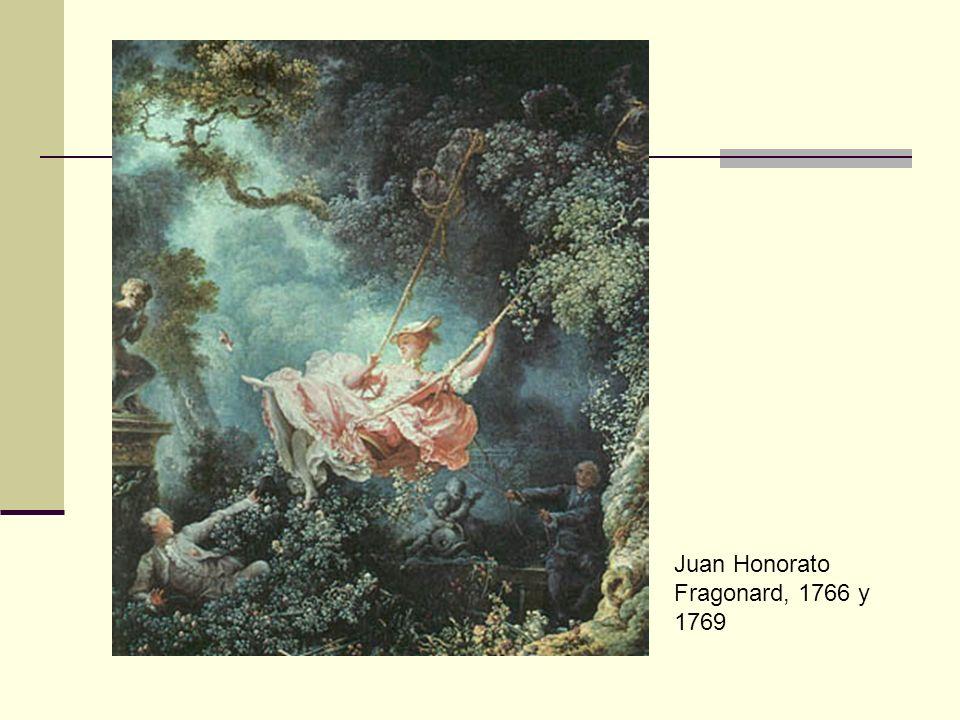 Juan Honorato Fragonard, 1766 y 1769