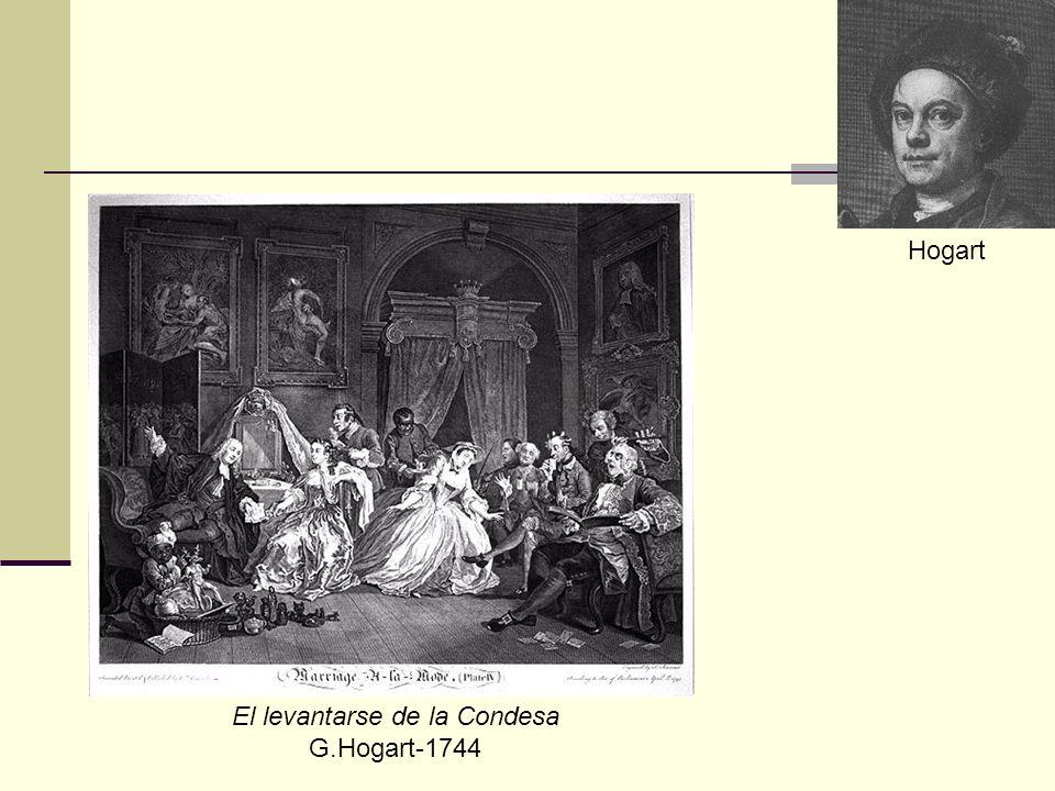 Hogart El levantarse de la Condesa G.Hogart-1744
