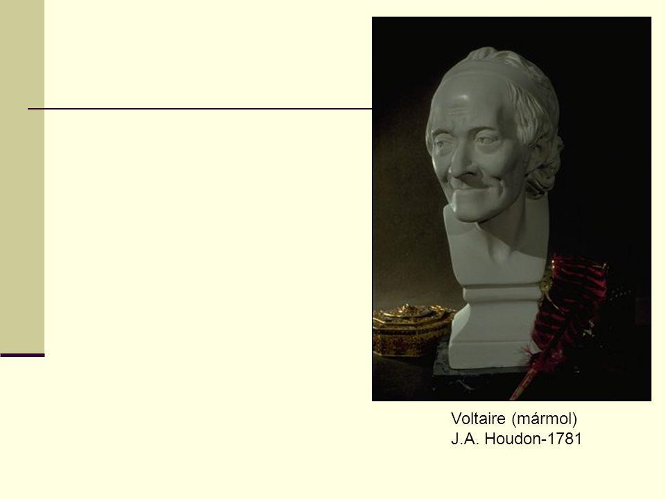 Voltaire (mármol) J.A. Houdon-1781