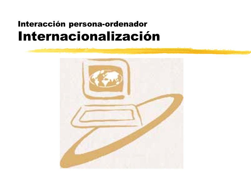 Interacción persona-ordenador Internacionalización