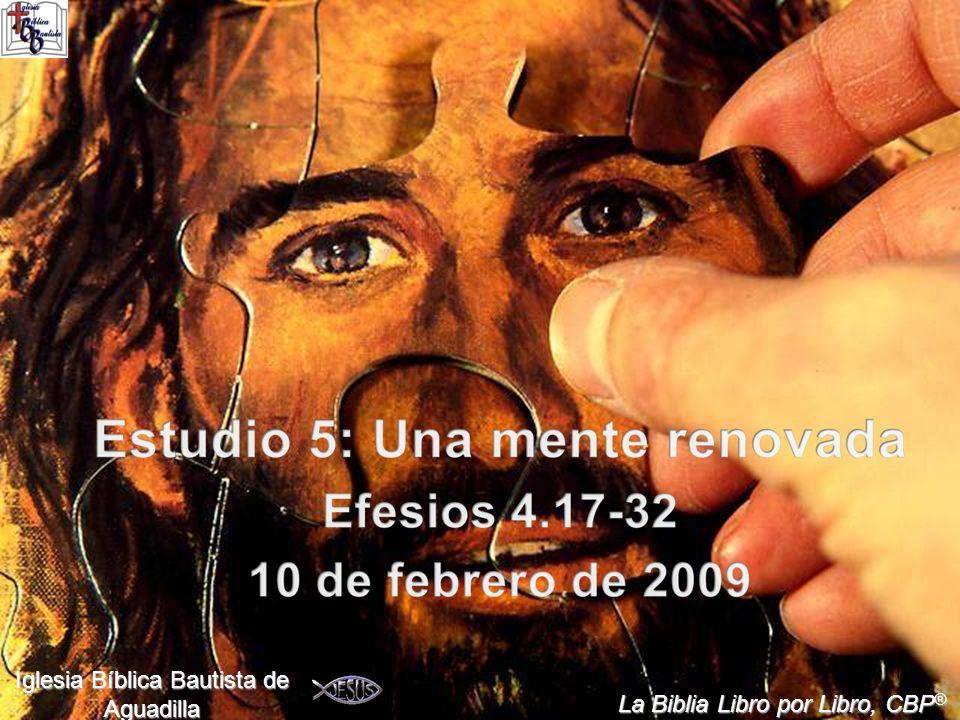 1 Iglesia Bíblica Bautista de Aguadilla La Biblia Libro por Libro, CBP ®
