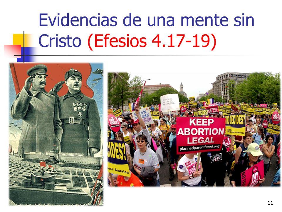 Evidencias de una mente sin Cristo (Efesios 4.17-19) 11