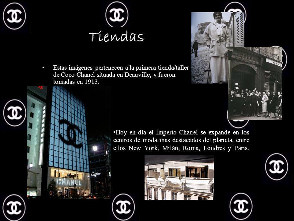 Hoy en día el imperio Chanel se expande en los centros de moda mas destacados del planeta, entre ellos New York, Milán, Roma, Londres y París.