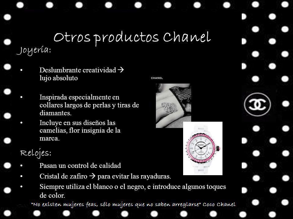 Otros productos Chanel Joyería: Deslumbrante creatividad lujo absoluto Inspirada especialmente en collares largos de perlas y tiras de diamantes.