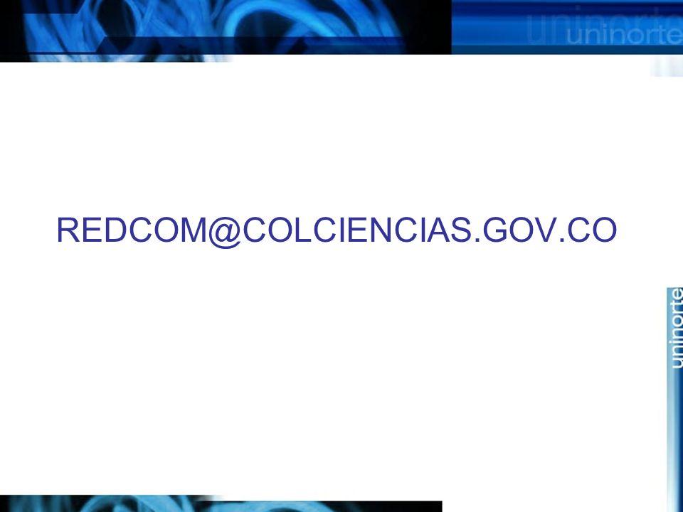 REDCOM@COLCIENCIAS.GOV.CO