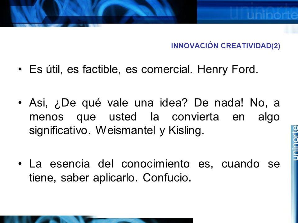 ACTUALIDAD NECESIDADES Sofistificación de las ideas.