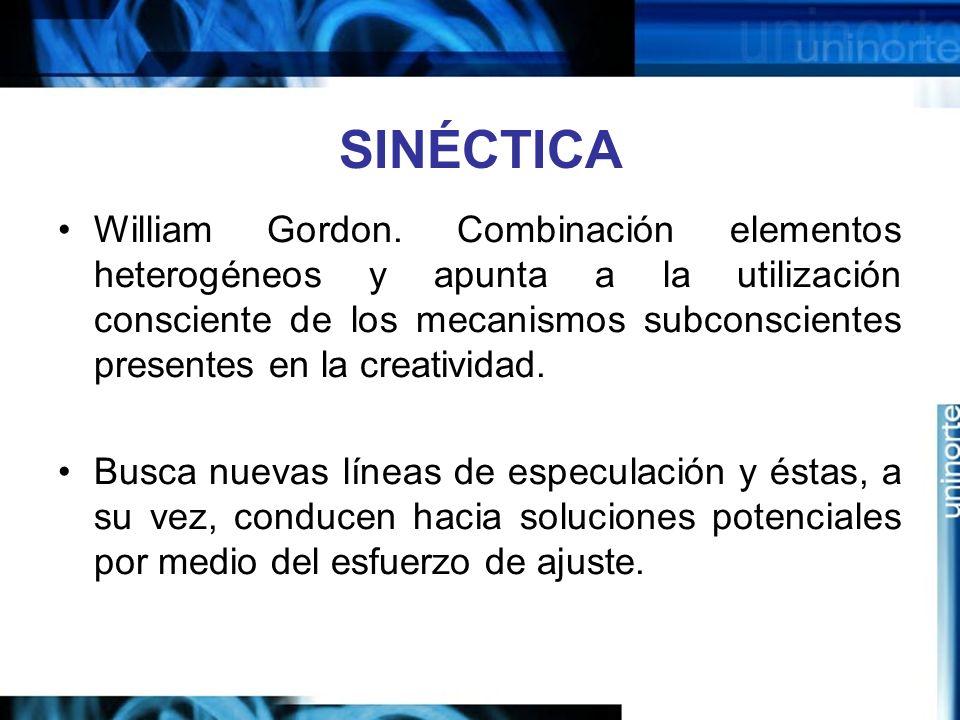 SINÉCTICA William Gordon.