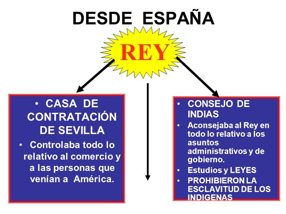 El primer virrey fue Antonio de Mendoza. Al termino del gobierno de cada virrey debería permanecer 2 años en el sitio que gobierno. En este tiempo se