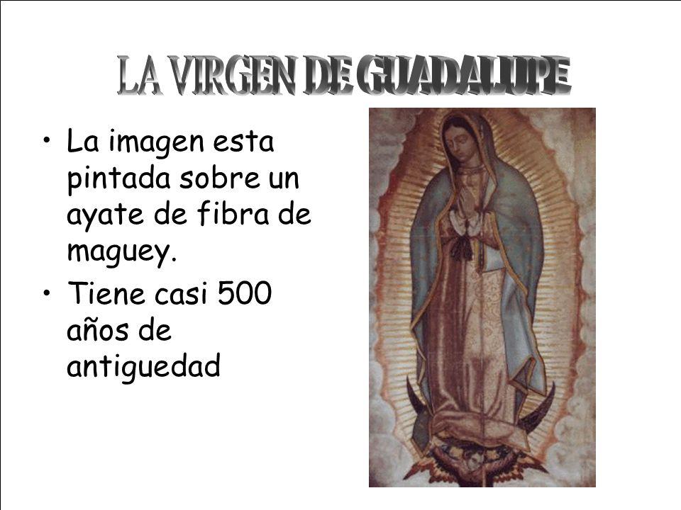 10 años después de haberse consumado la conquista de los aztecas se produjo el hecho histórico de la aparición de la Virgen de Guadalupe. Como todo he