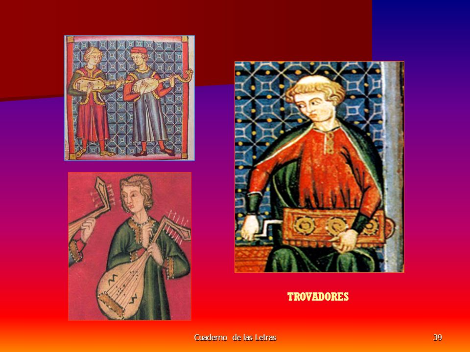 Cuaderno de las Letras39 TROVADORES