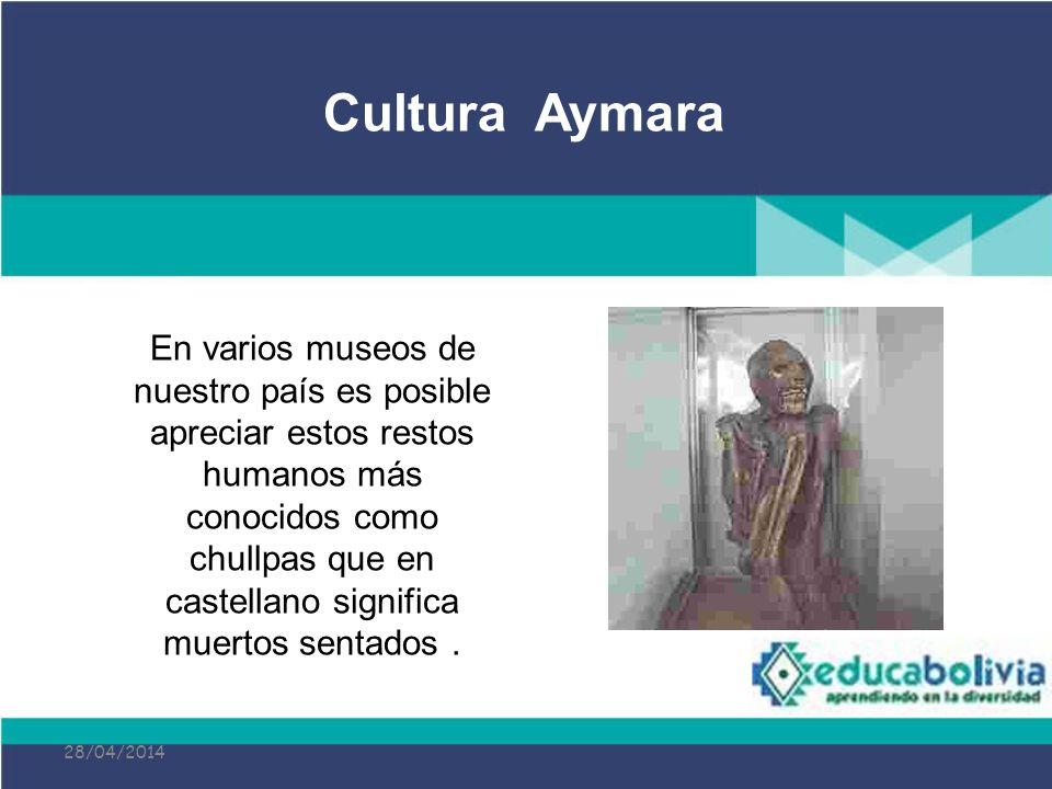 28/04/2014 En varios museos de nuestro país es posible apreciar estos restos humanos más conocidos como chullpas que en castellano significa muertos s